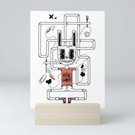 I'm hungry! Mini Art Print