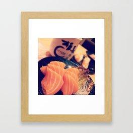Salmon Framed Art Print