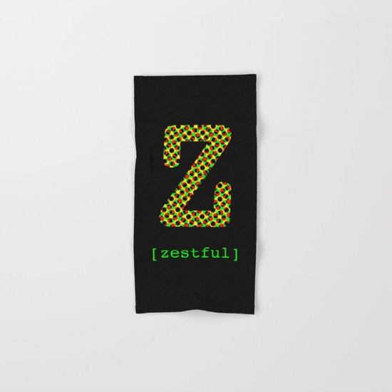 #Z [zestful] Hand & Bath Towel