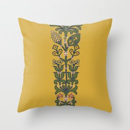 Cordoba mosaic 3 Throw Pillow