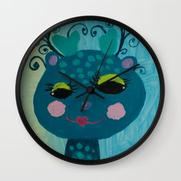 Little Deer : #Funny creature Series Wall Clock