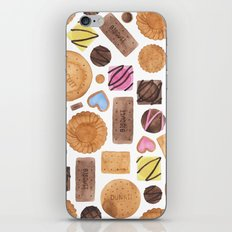 Selection of Sweets, Candy, Cakes and Biscuits iPhone & iPod Skin