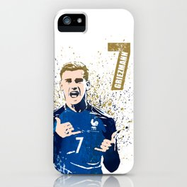Griezmann France iPhone Case