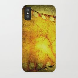 Innermost Thoughts iPhone Case
