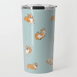Corgi Print Travel Mug
