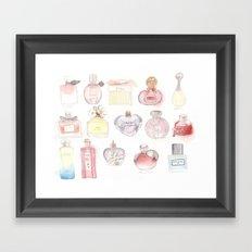 Perfumes Framed Art Print