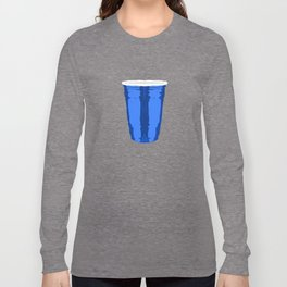 CLARITY CUP BLUE (BIG) Long Sleeve T-shirt