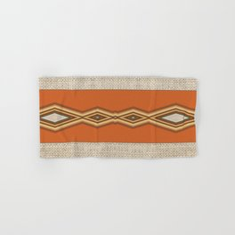 Southwestern Earth Tone Texture Design Hand & Bath Towel