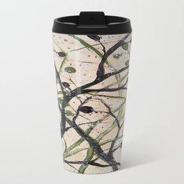 Black and Green Olives Travel Mug