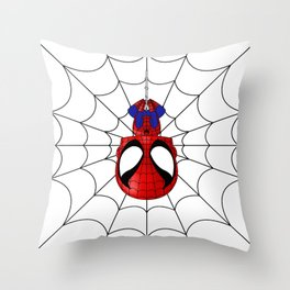 Web Slinger Throw Pillow