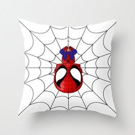 Web Slinger Throw Pillow