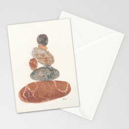 Pebbled Balance III Stationery Cards