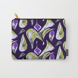 Ocean Purple Carry-All Pouch