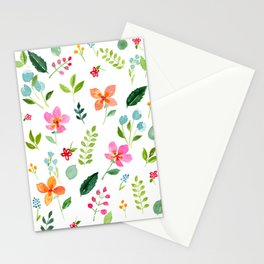 All Things Bright - White Stationery Cards