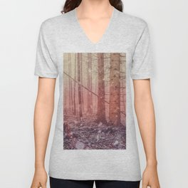 fantasy forest Unisex V-Neck