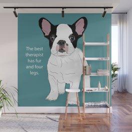 French Bulldog Therapy Wall Mural