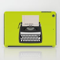 the perks of being a wallflower iPad Cases featuring the perks of being wallflower by Live It Up