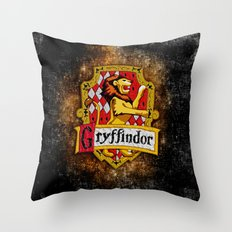 Gryffindor team flag iPhone 4 4s 5 5c, ipod, ipad, pillow case, tshirt and mugs Throw Pillow