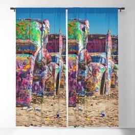 Amarillo Art Blackout Curtain