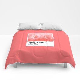 Pantone Series – Living Coral Comforters