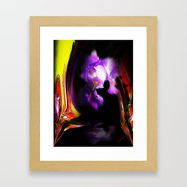 Abstract pefection -Lily Framed Art Print