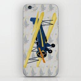 Bi-Plane - Fleet Model iPhone Skin