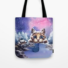 Cat land Tote Bag