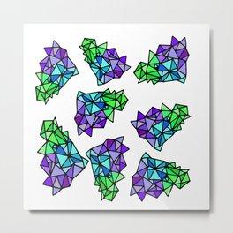 Geometrix Metal Print