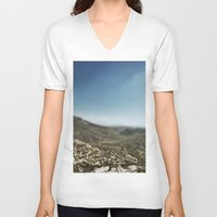 france V-neck T-shirts featuring France by jmdphoto