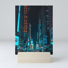 New York Bright Lights Mini Art Print