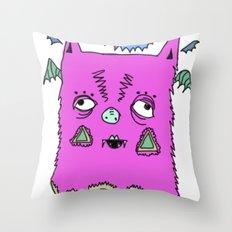 Murciélago#2 Throw Pillow