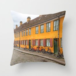 Danish Perspective Throw Pillow