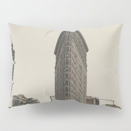Flatiron building, New York architecture, NY building, I love NYC Pillow Sham