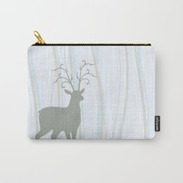 Deer Illustration Carry-All Pouch