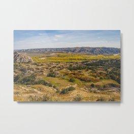 Badlands, Theodore Roosevelt NP, ND 4 Metal Print