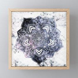 CANCER CONSTELLATION MANDALA Framed Mini Art Print