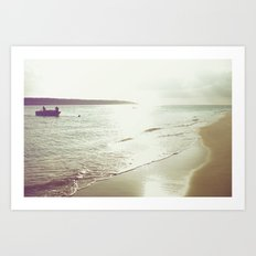 return from the sea Art Print