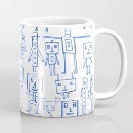 Robot Crowd Coffee Mug