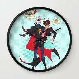 PruMano superheroes Wall Clock