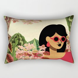Bayou Girl I Rectangular Pillow