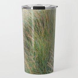 Beach Grass, New Zealand  Travel Mug