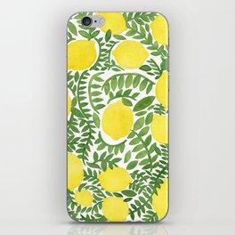 The Fresh Lemon iPhone Skin