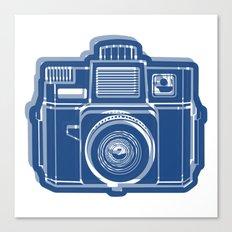 I Still Shoot Film Holga Logo - Blue Canvas Print