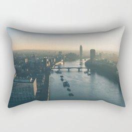 Skyline view London Rectangular Pillow