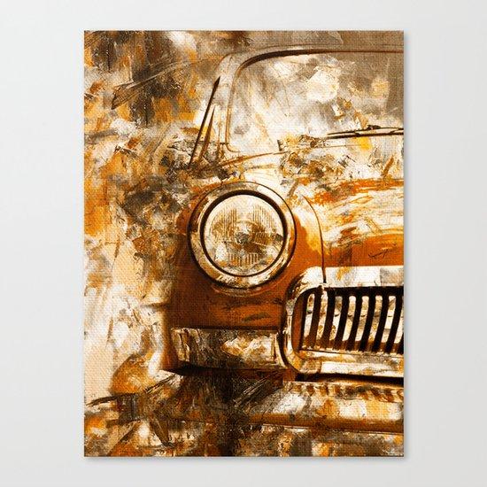 Car Wash 2 Canvas Print