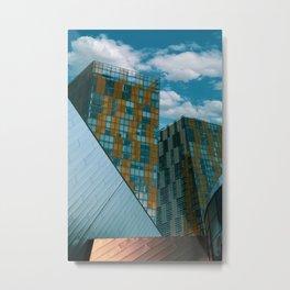 Tecture Metal Print
