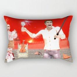 SquaRed: Opposite Rectangular Pillow