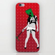 Dead Geekette iPhone & iPod Skin