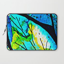 The time to bloom in flowers and colors. Celebrating the blossoming of life Laptop Sleeve