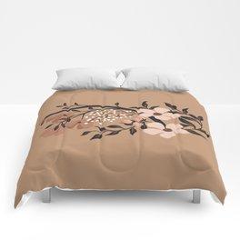 Nude Flowers Comforters